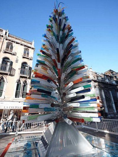 Murano Christmas Tree, Venice, Italy