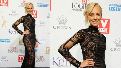 Gold Logie nominee Carrie Bickmore. (AAP)