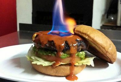 The world's hottest burger