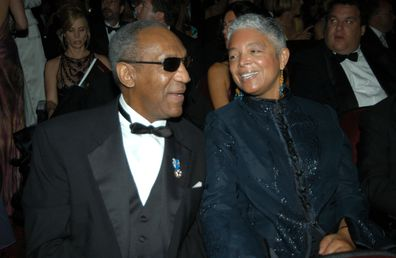 Bill Cosby and wife Camile at the Primetime 55th Annual Emmys Awards in 2003.