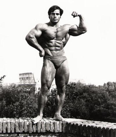 <strong>Franco Columbu then...</strong>