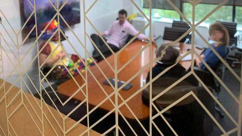NZ man took clown to redundancy meeting