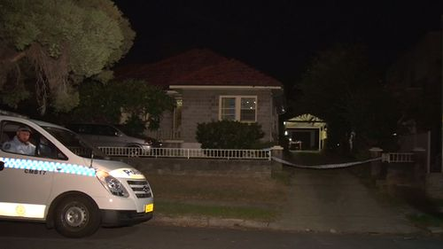 Police arrived to find the scene emptied but bloodied. (9NEWS)