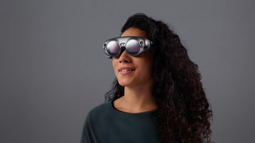 The Magic Leap headset will be released for developers in 2018. (Magic Leap)