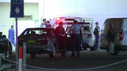 Police were originally called to the hospital at 10.30pm. (9NEWS)