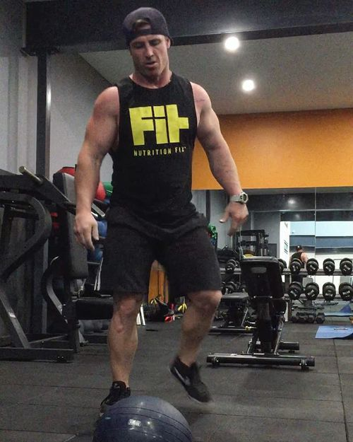 Brad Soper has been a personal trainer for 12 years.