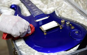 Prince's custom guitar sells for $825,000