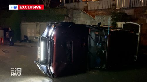 Witnesses who heard the cars collide with a loud bang and felt the ground shake told Nine News it happened incredibly fast.