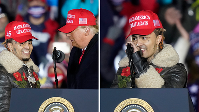 Donald Trump and Lil Pump