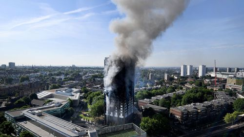 Man allegedly lied about family dying in Grenfell Tower fire