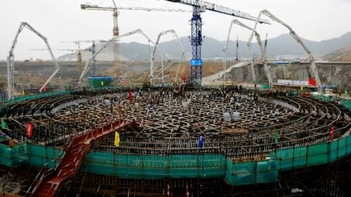 China has expanded its use of nuclear energy in recent years, and it represents about 5 per cent of all power generated in the country.