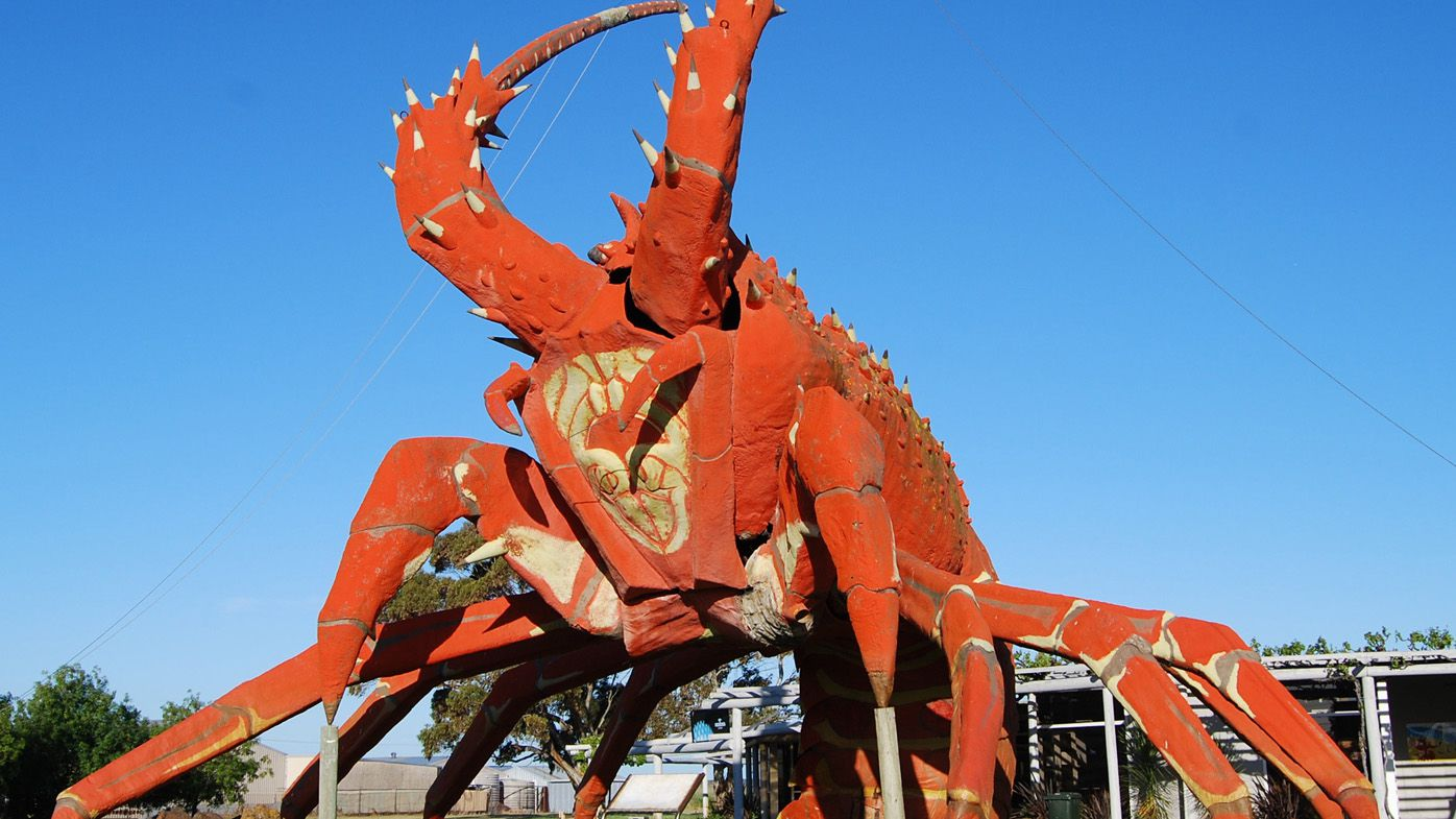 """7e12a0fcff The Big Lobster at Kingston Se, South Australia. The image is one of the  entries in Tourism Australia's """"There's Nothing Like Australia"""" competition  ..."""
