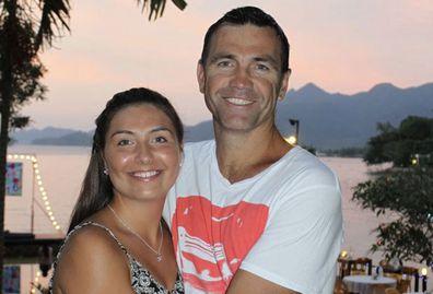 Matt Callander's daughter on the NRL Beanie for Brain Cancer round