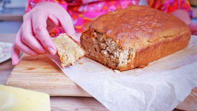 Easy five-ingredient banana bread
