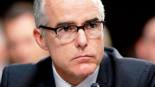 Former FBI Deputy Director Andrew McCabe said in an interview aired today that he worried that investigations into President Donald Trump's ties to Russia and possible obstruction of justice would be shut down after Mr Trump fired FBI Director James Comey.