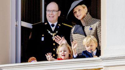 Princess Charlene, Prince Albert II and their children celebrate Monaco National Day, November 2018