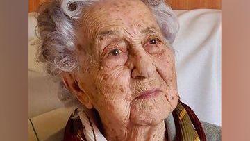113-year-old Maria Branyas says she feels fine after surviving coronavirus.