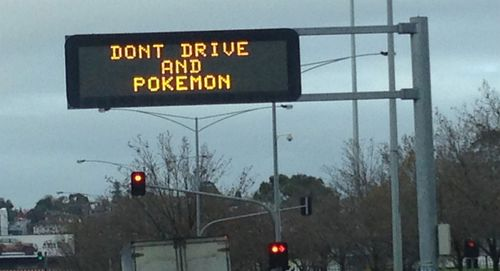 Don't Pokemon Go and drive: VicRoads