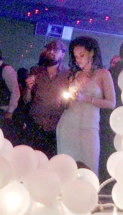 Leo and Rihanna