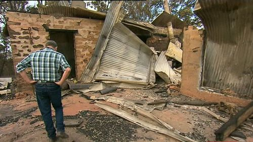 Sixty-nine homes were destroyed when fierce bushfires swept through Tathra in a single day in March. Picture: 9NEWS