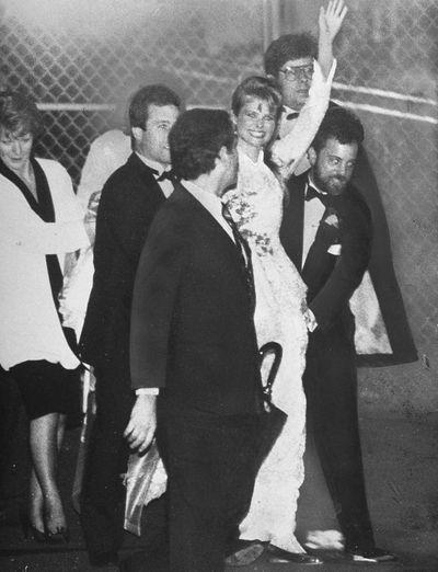 Christie Brinkley and Billy Joel, 1985