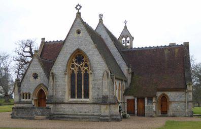 All Saints Chapel in Windsor
