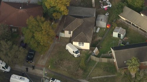 The home in Lalor Park. (9NEWS)