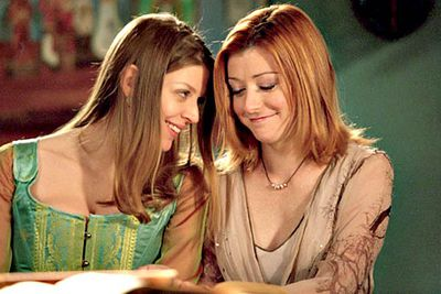 """""""Willow's not driving stick anymore?"""" one of the <I>Buffy</I> characters remarked, not long after the young wicca (Alyson Hannigan) started dating her fellow college student Tara (Amber Benson)."""