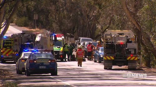 Emergency services rushed to the man's aid, but he was unable to be revived. (9NEWS)