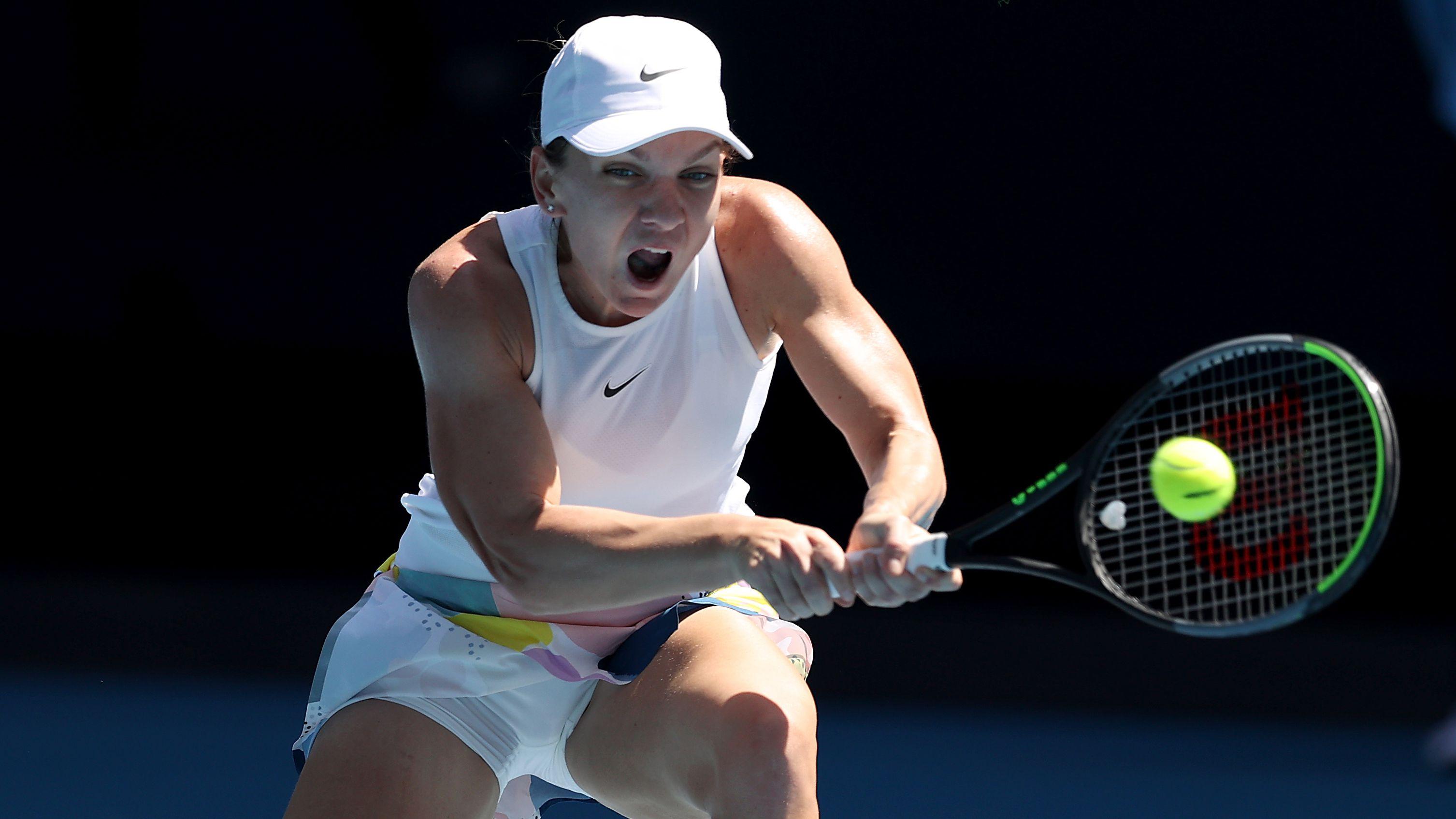 Simona Halep in scorching form as she reaches Australian Open semi final