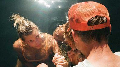 Justin Bieber and Hailey Bieber.