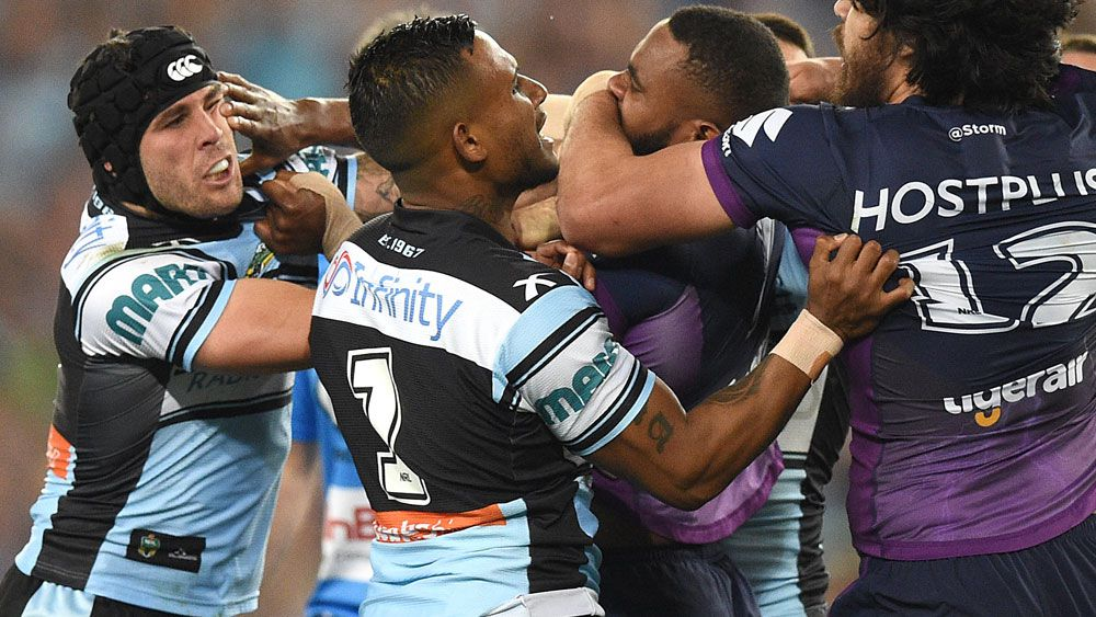 Sharks hooker Ennis at his menacing best in grand final