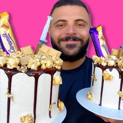 Jono Massaad, Sydney baking sensation and founder of Cakemail