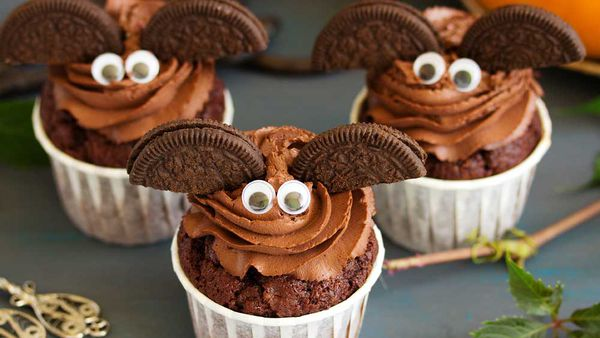 Batty cupcakes