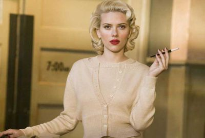 Scarlett Johansson as the ultimate femme fatale in <em>Black Dahlia</em>.