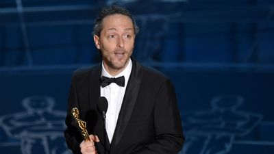 <b>Best Achievement in Cinematography:</b><br><br>Emmanuel Lubezki accepts the Oscar for Birdman, which was filmed to appear as if the entire movie was one continuous shot. (AAP)