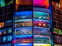 DIY Vivid Sydney balcony lights displays