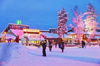 Santa Claus Express -- Helsinki, Finland to Rovaniemi, Finland