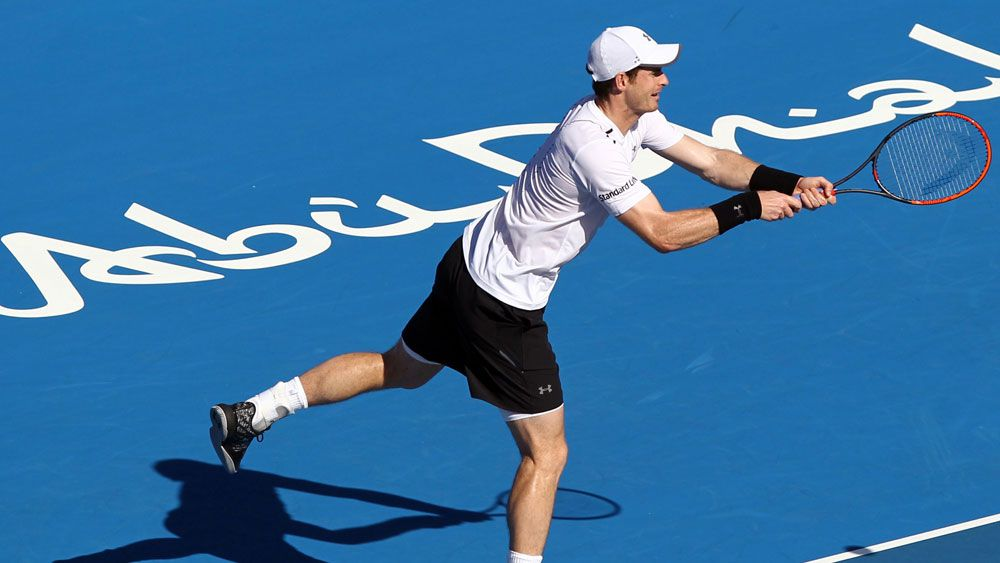 Andy Murray proved too good for Jeremy Chardy in Doha. (AAP)