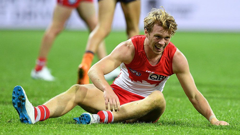 Callum Mills to back up for Swans after Tom Bugg punch