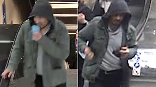 Swedish police have released photos of a man wanted in connection with the attack. (Supplied)
