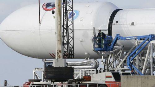 Space X's Falcon9 rocket. (NASA)