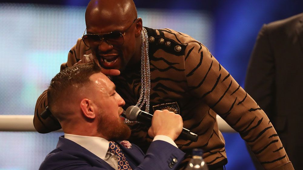 Mayweather uses gay slur on McGregor