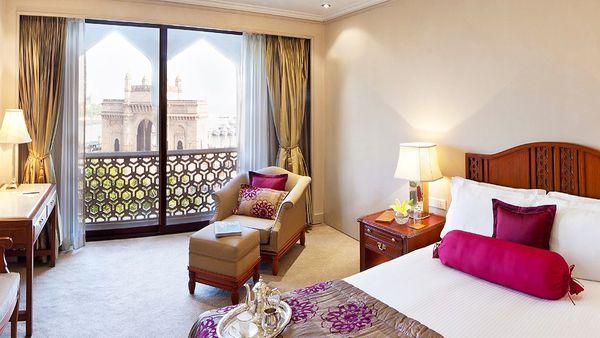 Superior room at Taj Mahal Palace (supplied)