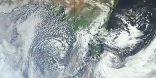 The polar blast is coming to an end for Sydney and Melbourne.