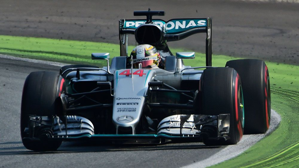 Lewis Hamilton. (AAP)