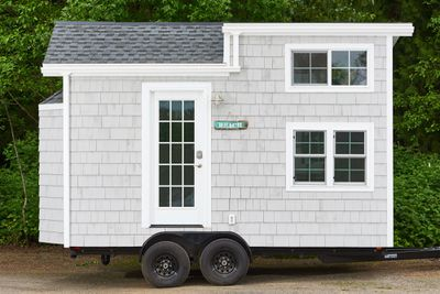<p><strong>The Beach House tiny home</strong></p> <p><strong></strong></p>