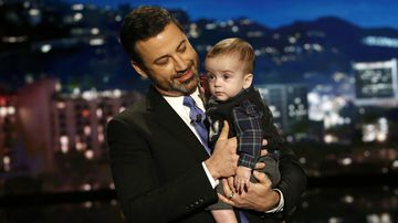 Jimmy Kimmel brings infant son on 'Jimmy Kimmel Live' after undergoing heart surgery