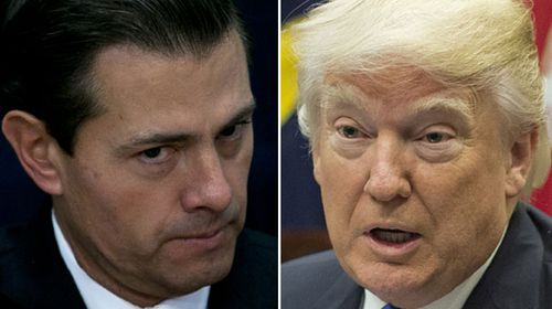 Trump and Mexican president speak by phone to calm border wall dispute