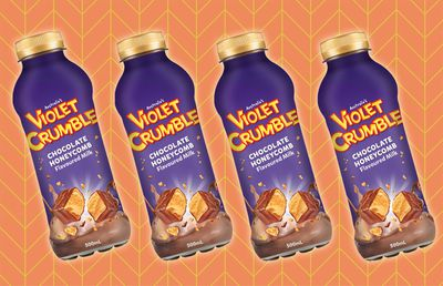 Violet Crumble milk set to hit shelves from October